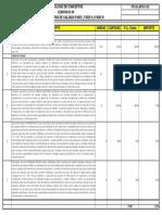 Catalogo de Juntas de Calzada.