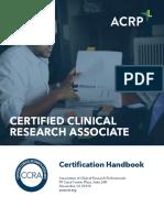 CCRA Handbook 2016