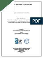 GUÍA DE ENTREVISTA Y CUESTIONARIO (Esneider Yasno)