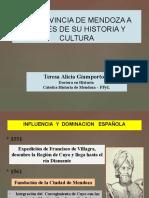 MENDOZA Historia y Cultura