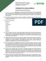 Estudo Dirigido - Clínica Médica - 2016 - Silvana Nogueira