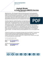 Asphalt Binder Mscr Updated