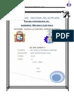289151227 Informe de La Central de San Gaban II