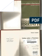 Palmiro Togliatti Licoes Sobre o Fascismo Caps 1 2 6 Um