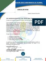 Circulares 1 y 2 OSIC