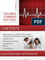 race and ethnicity and feelings towards doctors