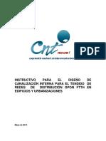 Instructivo de Canalización Urbanizaciones y Edificios CNT