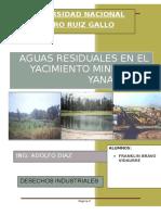 Aguas Residuales en El Yacimiento Minero de Yanacocha