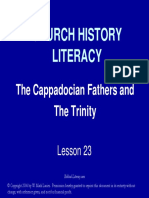 The Cappadocian Fathers and the Trinity Slides
