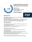 PA 60th Provisional Program