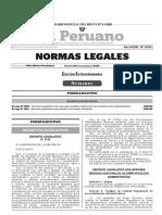 Decreto Legislativo Que Aprueba Medidas Adicionales de Simpl Decreto Legislativo n 1310