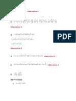 Respuestas Examen Final Niv Matematicas