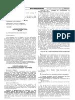 Decreto Legislativo Que Modifica El Codigo Tributario Decreto Legislativo n 1311