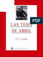 Las Tesis de Abril - Lenin