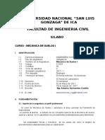 Silabus Ing Civil-Mec Suelos I-II-2015 Profs. Antonio Hernandez-Arturo Godoy (2).doc