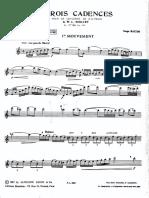 Mozart Cadenza Oboe Concerto