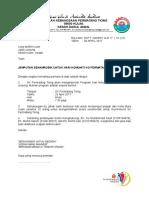 Surat Jemputan Senamrobik Kolej Mara