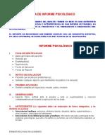 Informe Psicologico Formato(1)