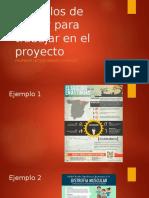 Ejemplos de Póster Para Trabajar en El Proyecto