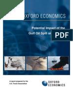 Gulf Oil Spill Analysis Oxford Economics 710