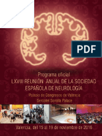 PROGRAMA DE LA SOCIEDAD ESPAÑOLA DE NEUROLOGIA