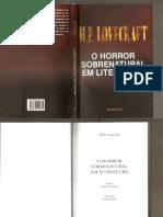 H P Lovecraft - O Horror Sobrenatural Em Literatura0001