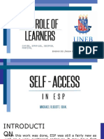 Self-Access Presentation