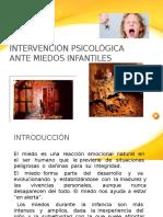 UNidad 3. Tema 3.3 Intervencion Psicologica Ante Miedos Infantiles
