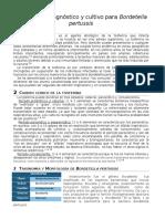 Métodos de Diagnóstico y Cultivo Para Bordetella Pertussis
