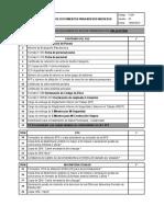 F-091 Checklist de Documentos Para Nuevos Ingresos Ver.05