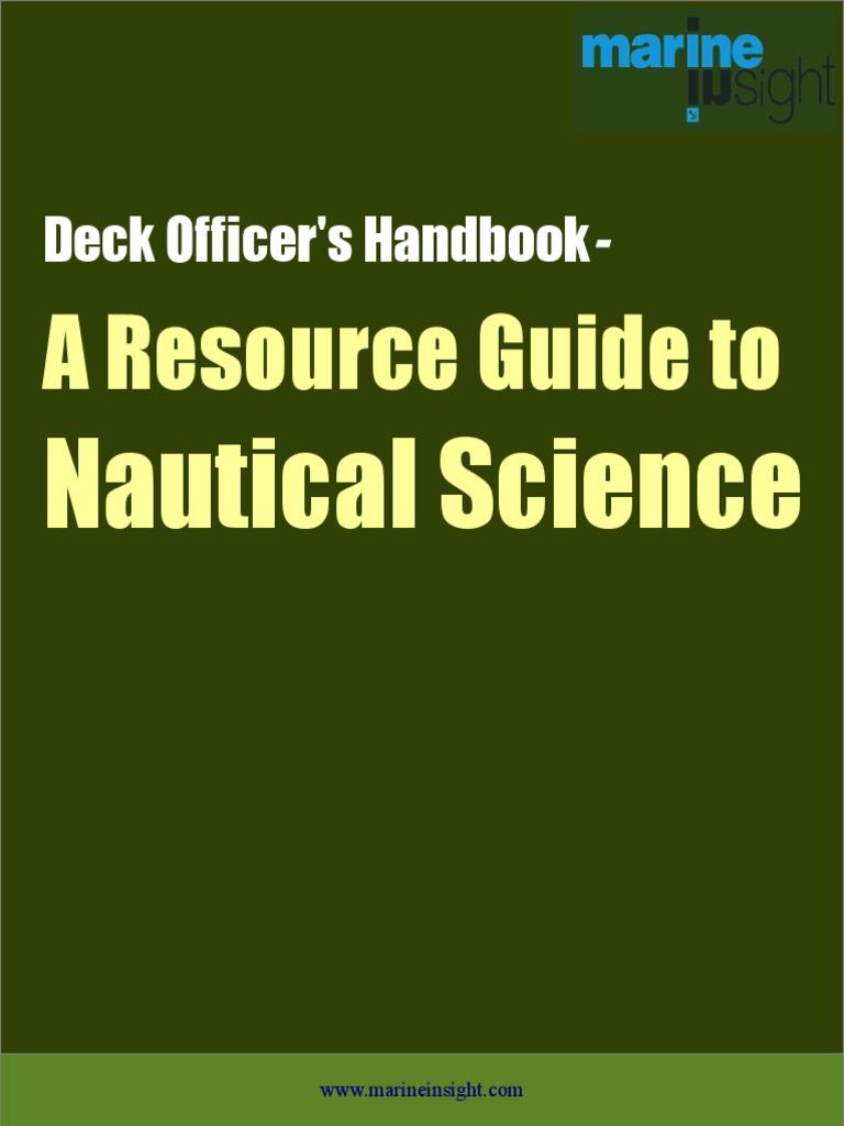 Deck-Officer-ebook pdf | Sailor | Ships