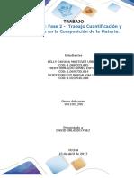 Formato Entrega Trabajo Colaborativo – Unidad 2_ Fase 2 - Trabajo Cuantificación y Relación en La Composición de La Materia (1)