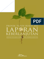 The Tujuh Bukit Project Sustainability Report 2012 Indonesian WEB