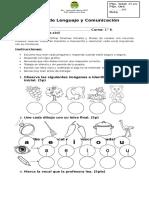 Evaluación Lenguaje Vocales - Diferenciada