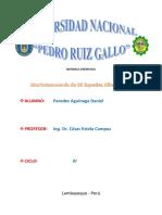 Morfo Taxonomía de 50 Especias Forestales Del Perú