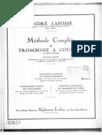 2° Volume - Méthode Complète de Trombone a Coulisse - André Lafosse
