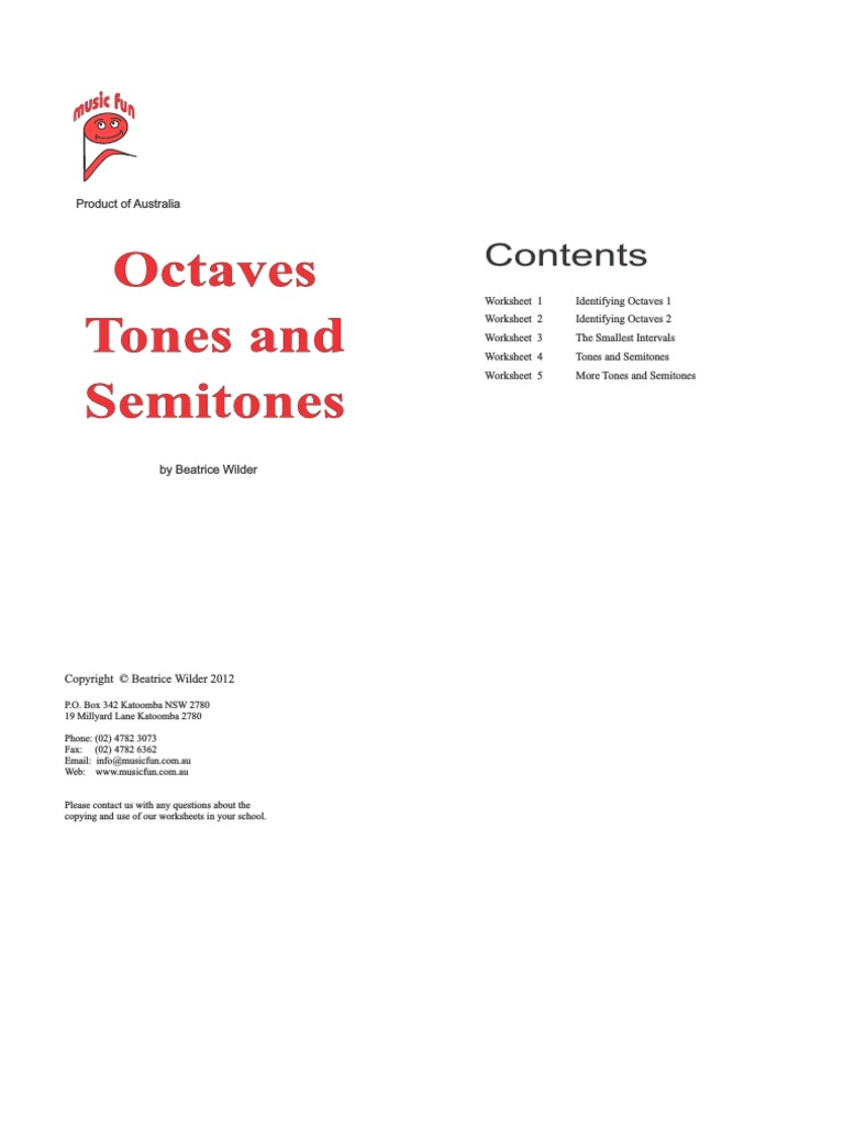 worksheet Tones And Semitones Worksheet intervals interval music scale music