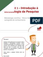 PPT_Introdução a Metodologia de Pesquisa