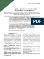 Craske_PD Review for DSM 5