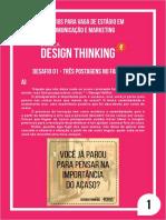 Resolução de Desafios para Escola Design Thinking (EDT)