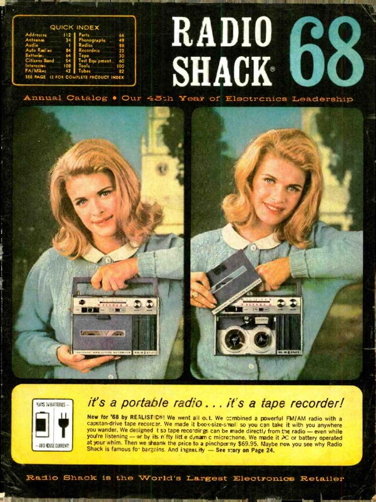Radio Shack 68 Am Broadcasting Loudspeaker Telephone Wiring Block