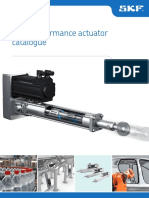 SKF High Performance Actuator Catalogue