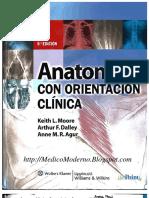 Anatomia de Moore 6a Edicion
