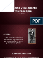 Carl Zeiss y Su Aporte Al Microscopio Xd