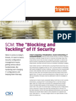 The Blocking and Tackling of IT Security