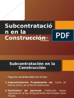 Ley de subcontratación en la construcción 3