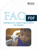 FAQ on Rabies WHO 2013