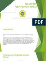 Kelompok III (Evaporator)