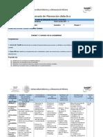 Planeacion Didactica Unidad 1 Gerardo Fernandez