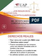 Los Derechos Reales en El Derecho Civil-concepto, Clasificación